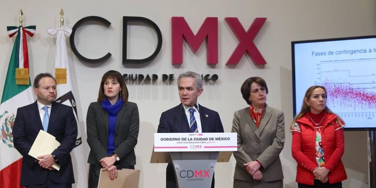 Mancera anuncia cambios en su gabinete tras renuncias de dos funcionarios