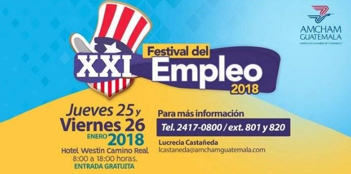 festival de empleo 2018 de Amcham
