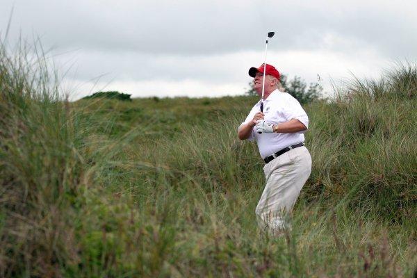 Donald Trump, peso