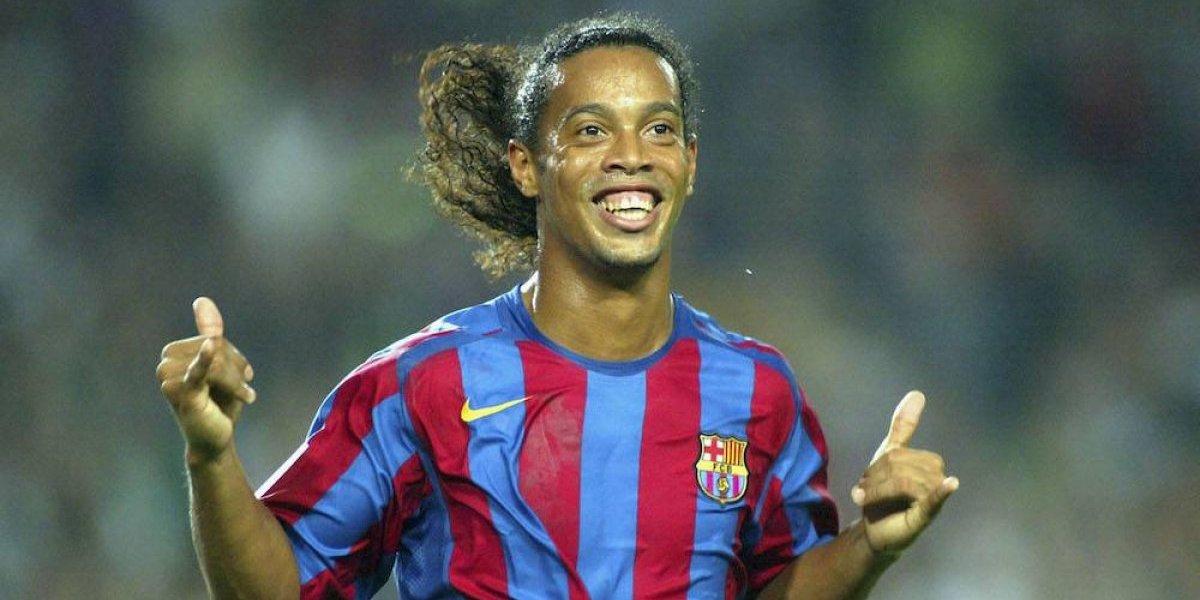 Lionel Messi le dedica emotivas palabras a Ronaldinho