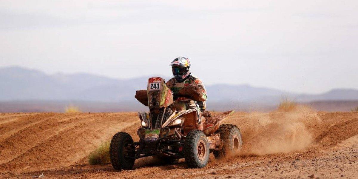 La ayuda de Ignacio Casale con un accidentado rival de los quads