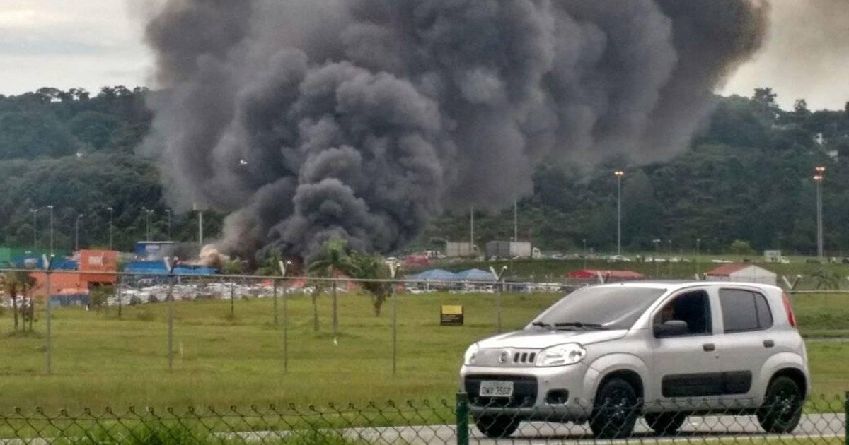 Incêndio Aeroporto Cumbica