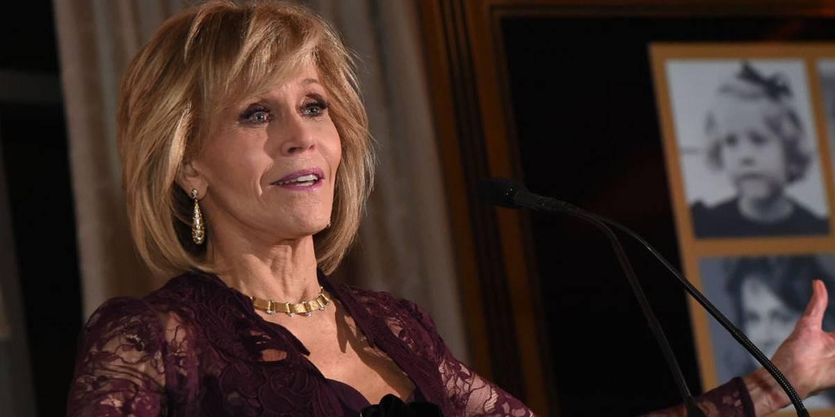 Jane Fonda revela que tirou câncer dos lábios