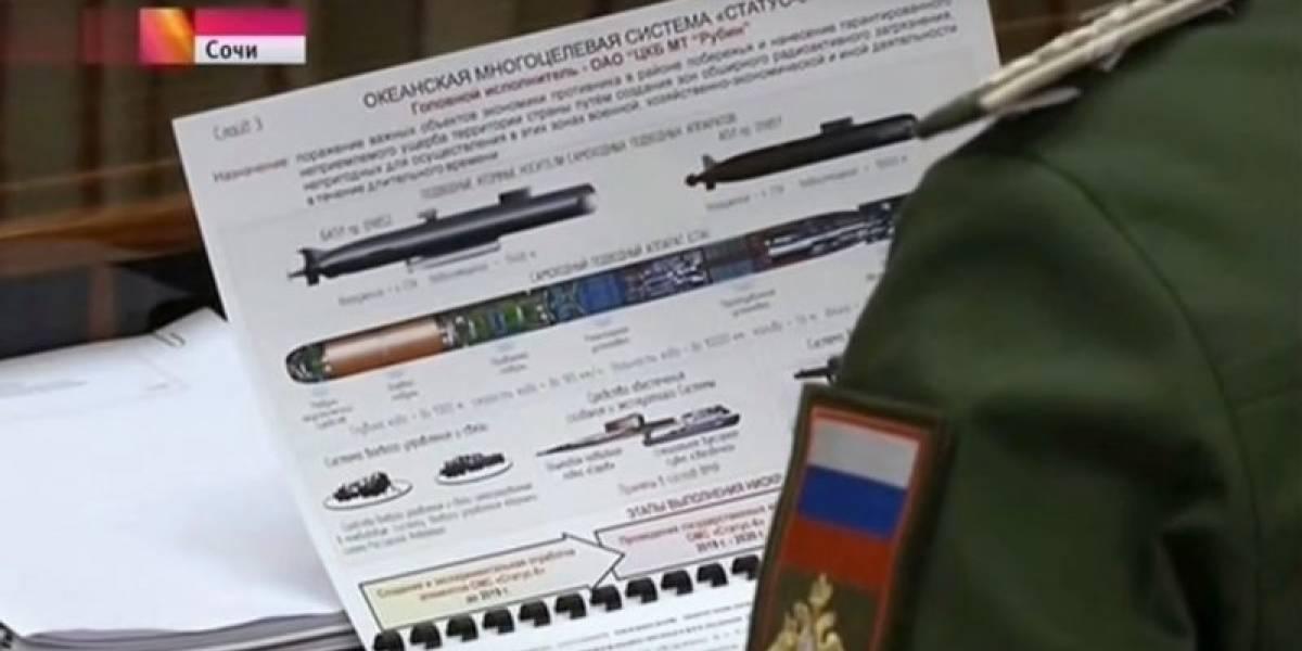 Pentágono alerta sobre nueva arma de Rusia: dron submarino con capacidad nuclear