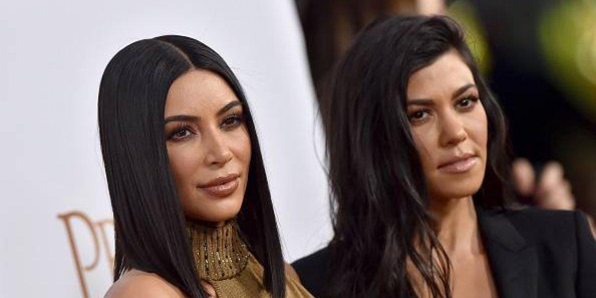 FOTO. Así lucían Kim y Kourtney Kardashian hace casi 25 años