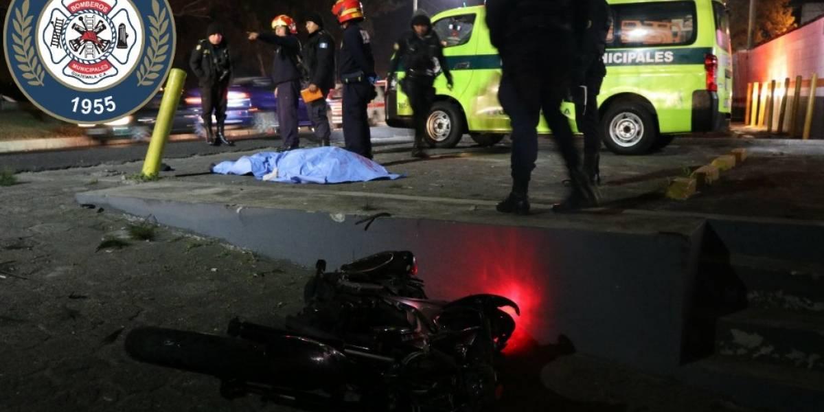 Motorista fallece tras ser atropellado en calzada Aguilar Batres