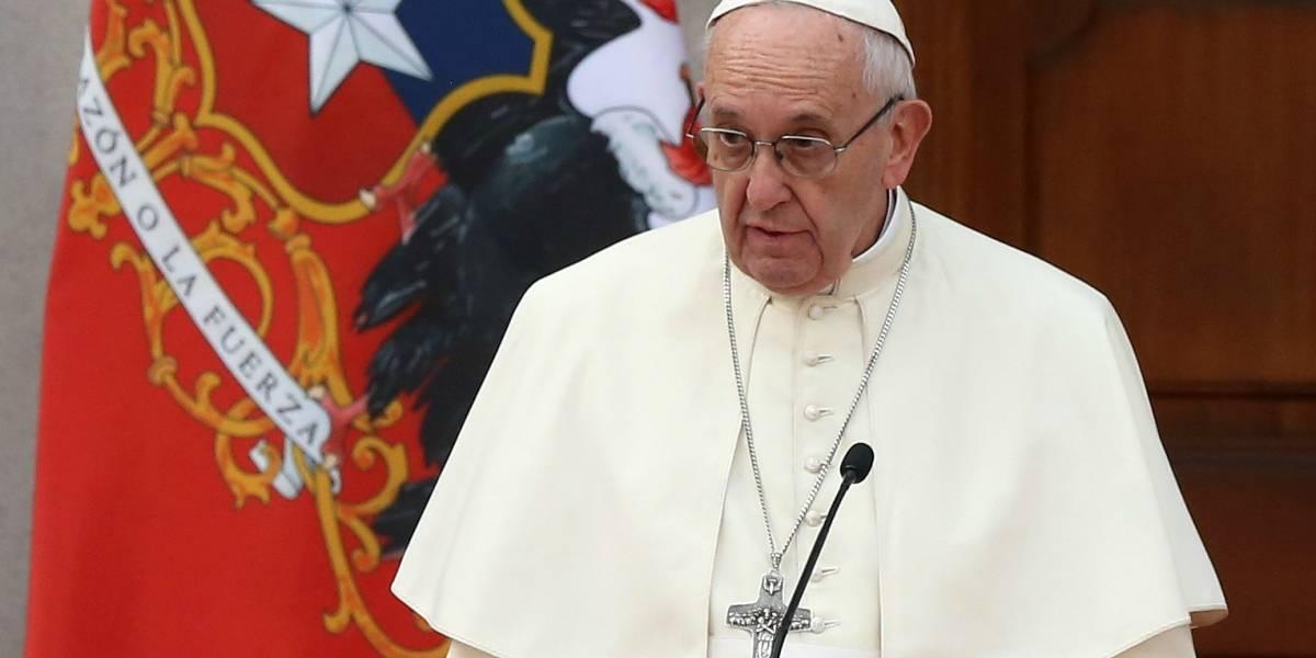 Los puntos claves y las palabras que marcaron el discurso del papa Francisco en La Moneda