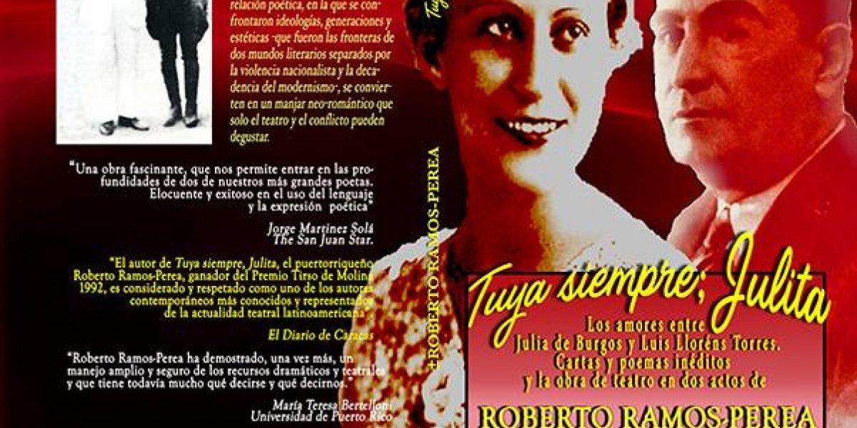 Con este libro comprueban el amor entre Luis Llorens Torres y Julia de Burgos