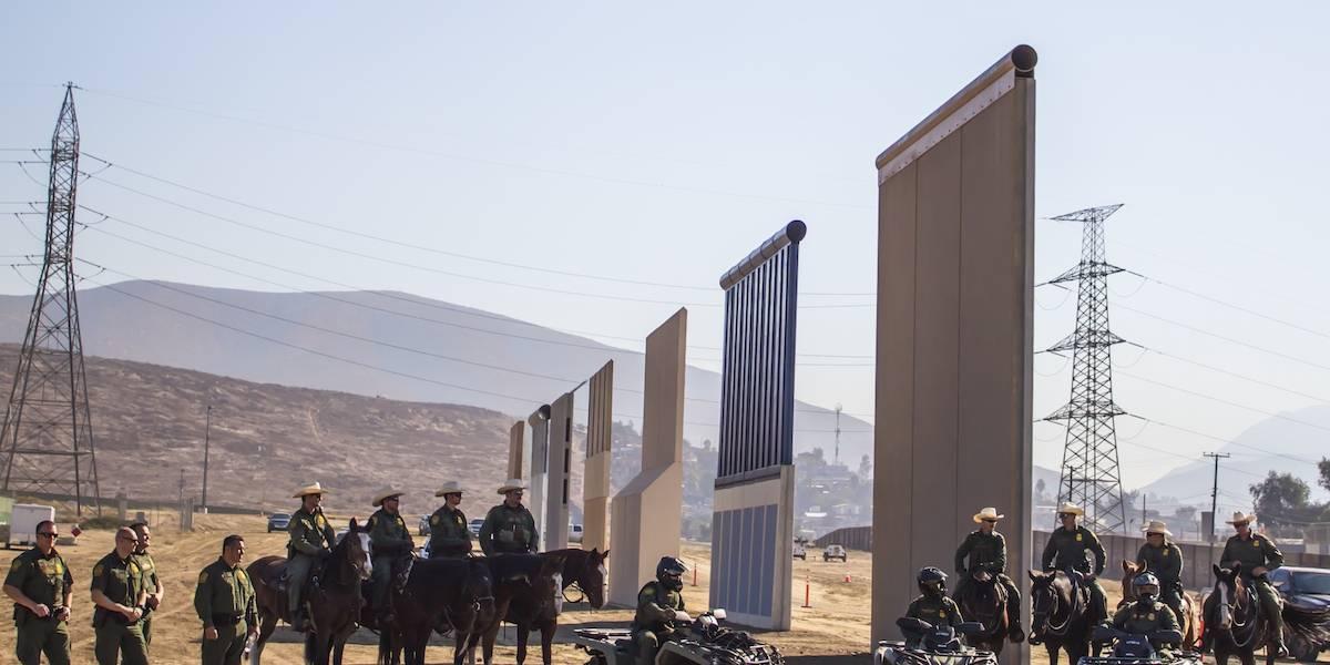 El muro, la prioridad migratoria número uno de Trump