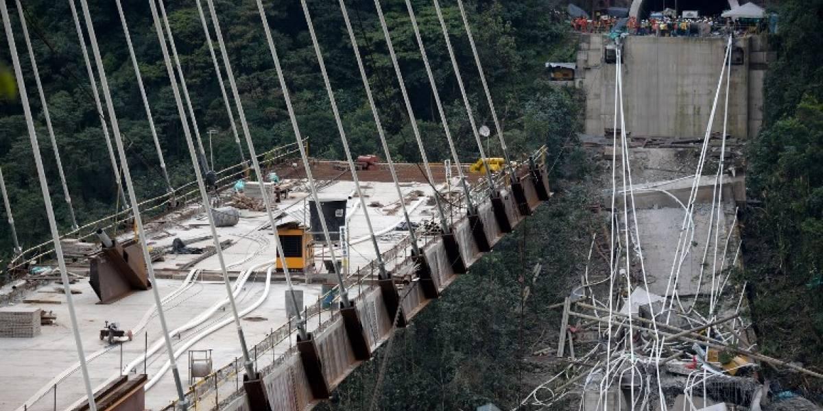 EN IMÁGENES. Diez obreros mueren en Colombia al caer puente en construcción