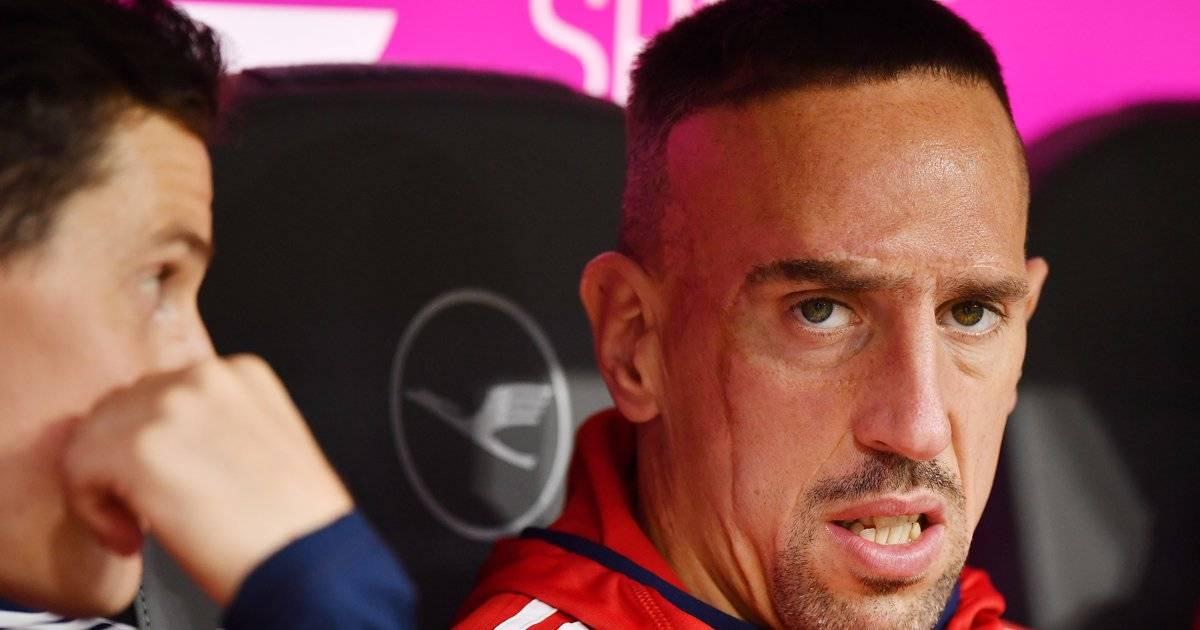 Ribéry foi abandonado pelos pais ao nascer