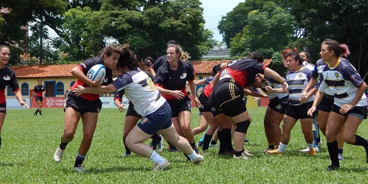 Mulheres ganham espaço no campo para a disputa do Rugby XV; faça sua inscrição