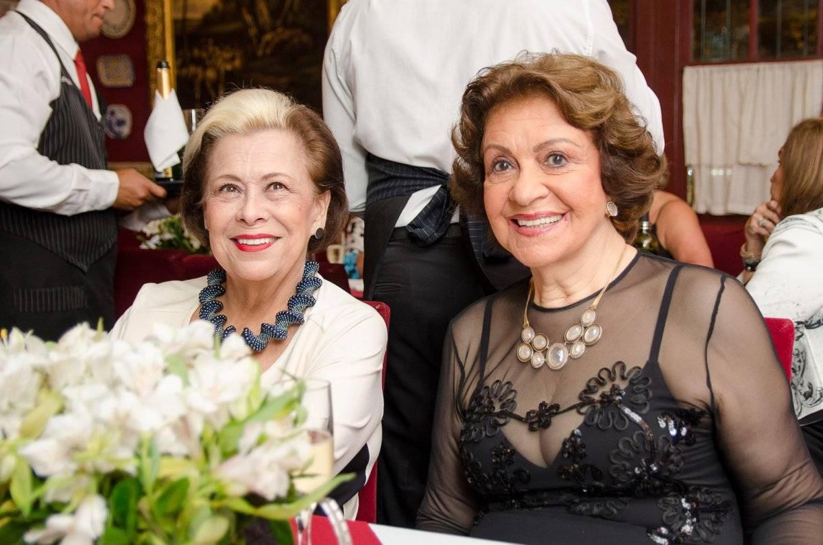 Sandra Penna e Maria José Capanema Ton Netos