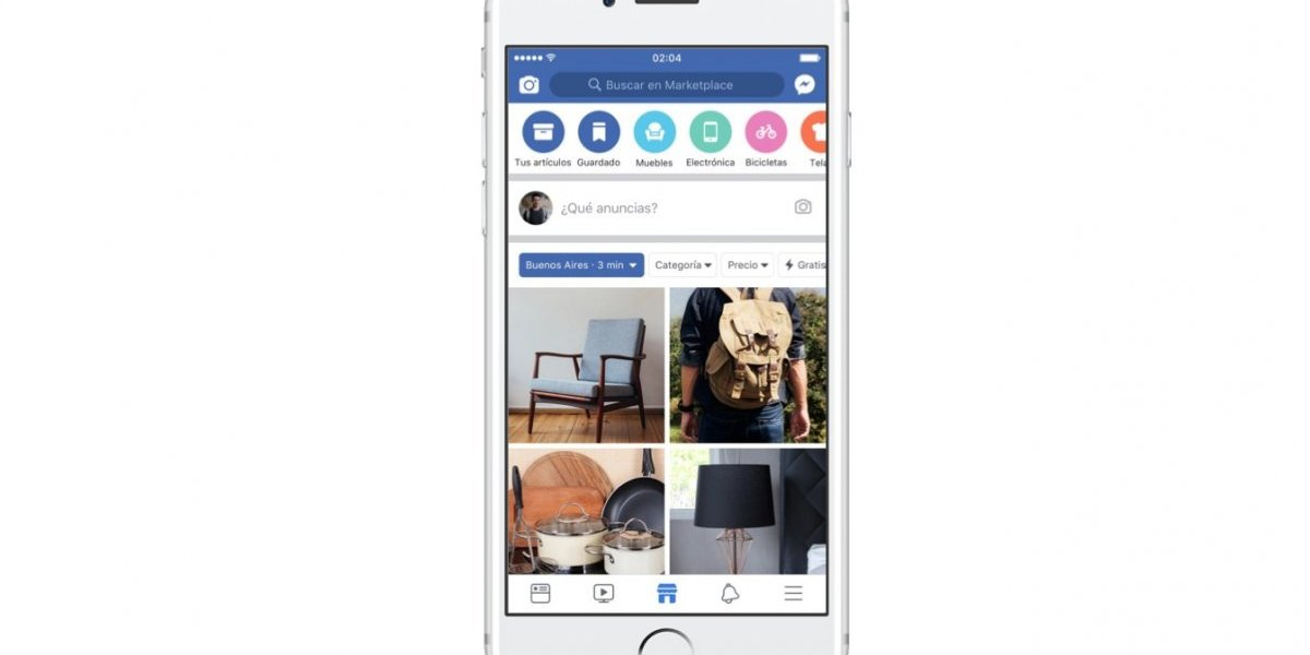 Facebook lanzó Marketplace en el Perú