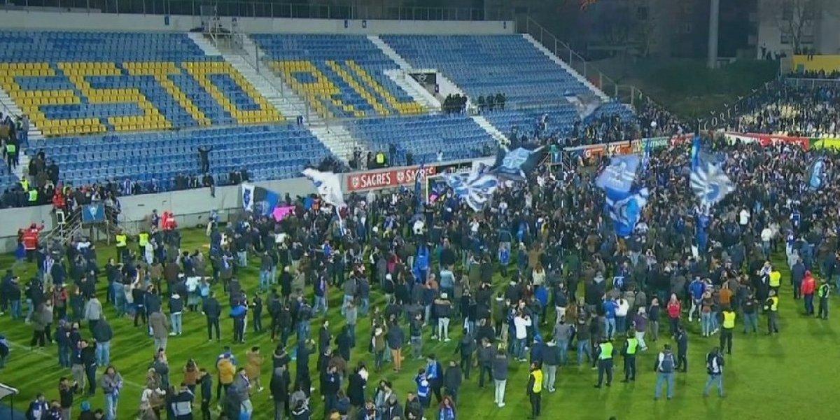 Juego Estoril-Porto se jugará en febrero tras ser suspendido