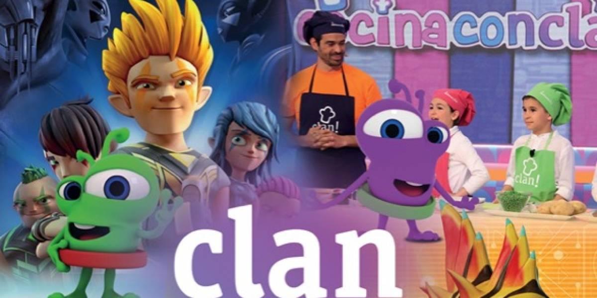 Llega a México el canal infantil Clan