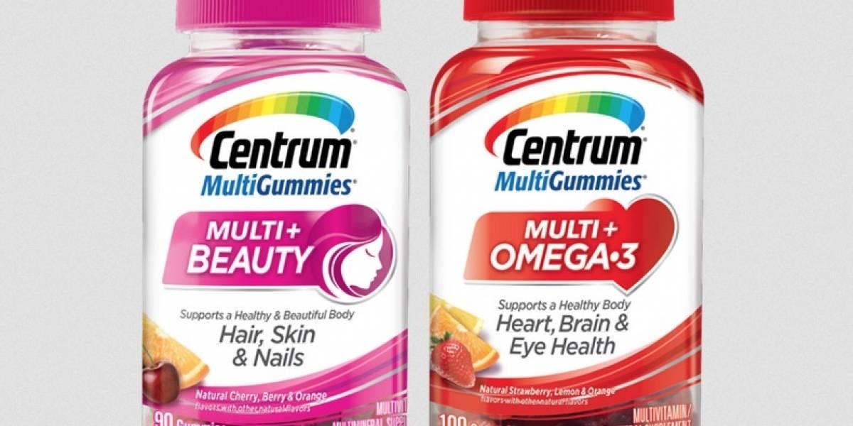 Llegan multivitaminas Centrum MultiGummies