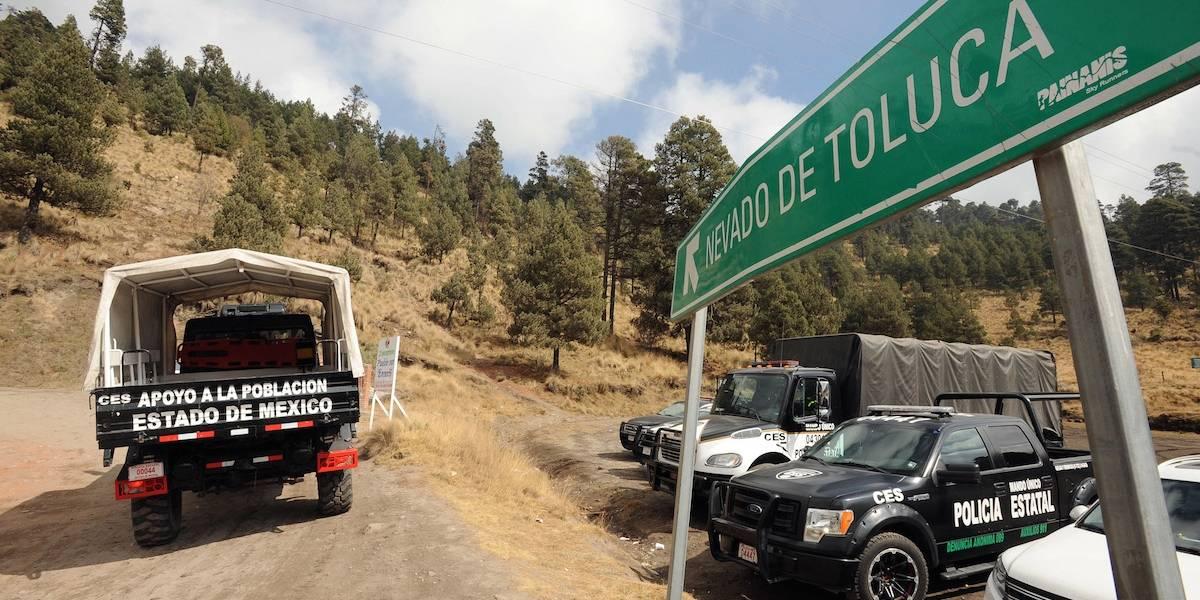 Localizan a jóvenes reportados extraviados en el Nevado de Toluca