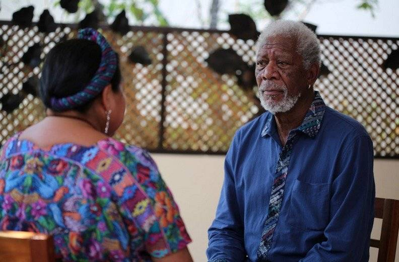 """En la serie """"The Story of Us"""", Morgan Freeman viaja por varias partes del mundo para encontrar respuestas ante la pregunta: ¿Quiénes somos en este mundo? Foto: Nat Geo"""