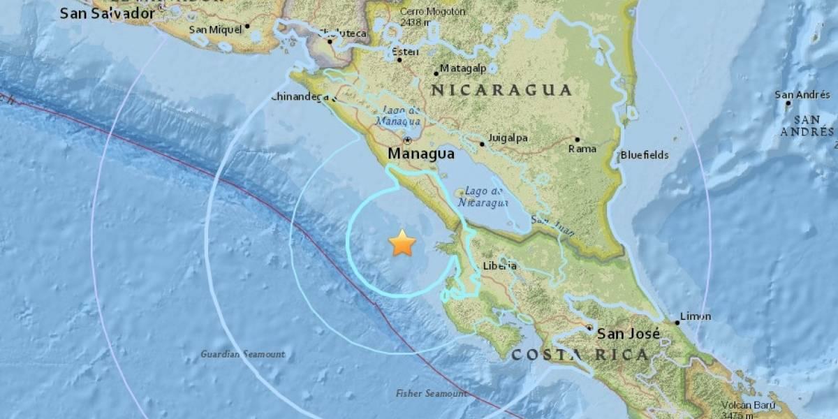 Ahora Nicaragua; sismo de 5.8