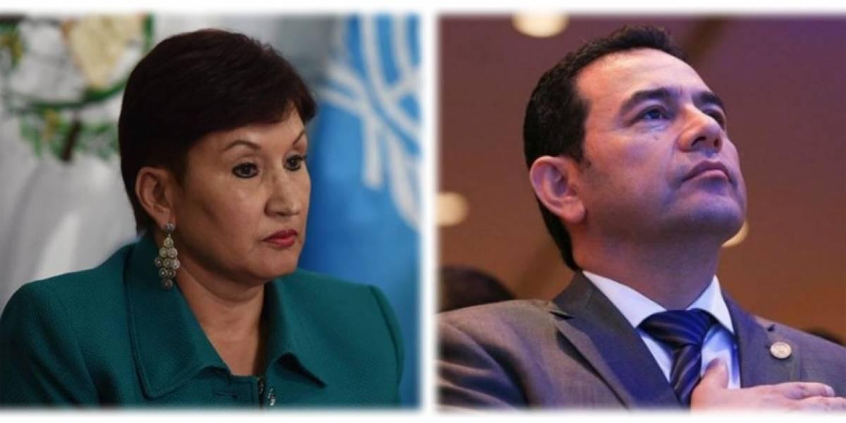 """Expertos recomiendan a Aldana y Morales """"ponerse de acuerdo, respetar la ley y pensar en el colectivo"""""""