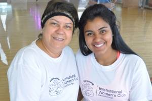 International Women's Club y Body Shop