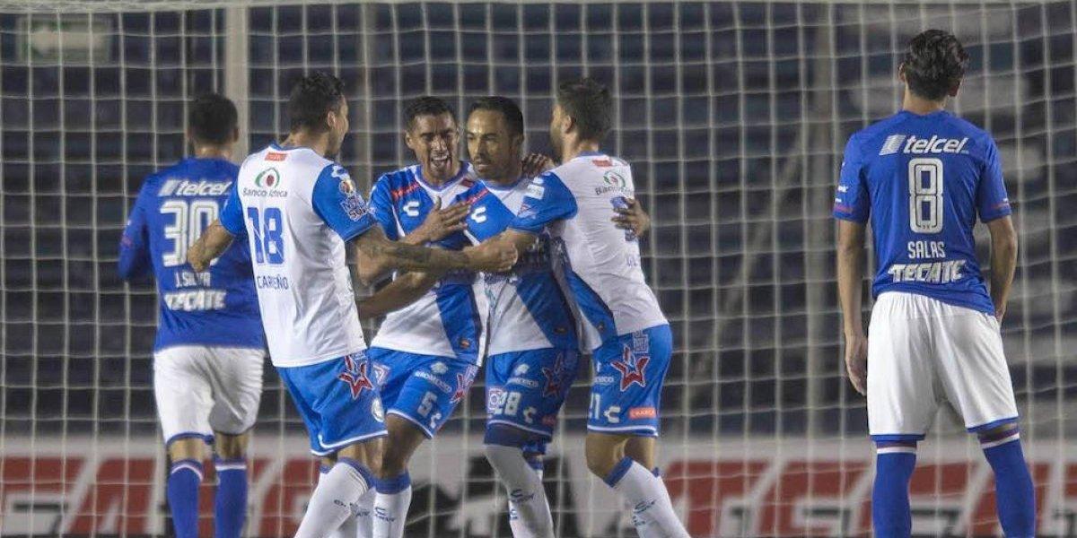 Cruz Azul no camina en la Copa MX y es goleado por el Puebla