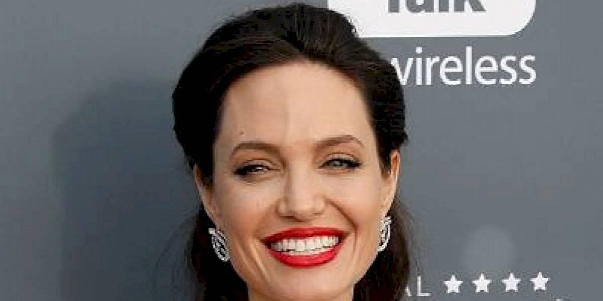 """Se filtra imágenes del rodaje de Angelina Jolie con """"Los Eternos"""""""