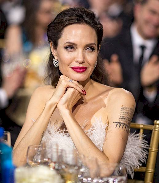 Angelina Jolie Getty Images