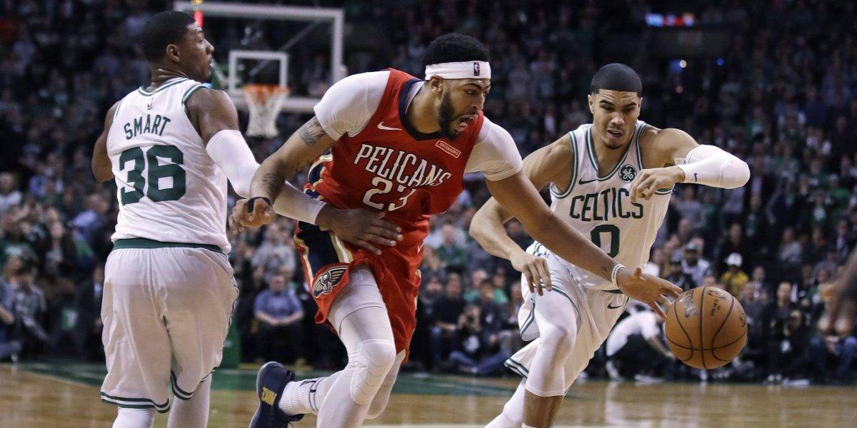 La Ceja Davis dio una lección a Boston Celtics y encumbró a los Pelicans