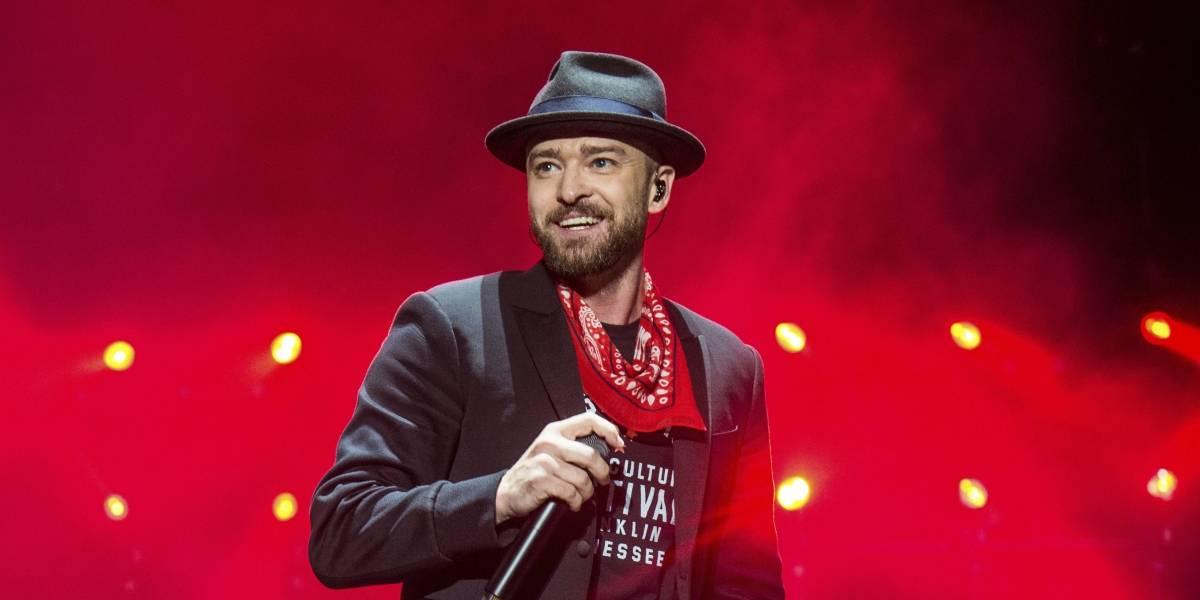 Timberlake presenta su álbum en 'bosque' con todo e insectos