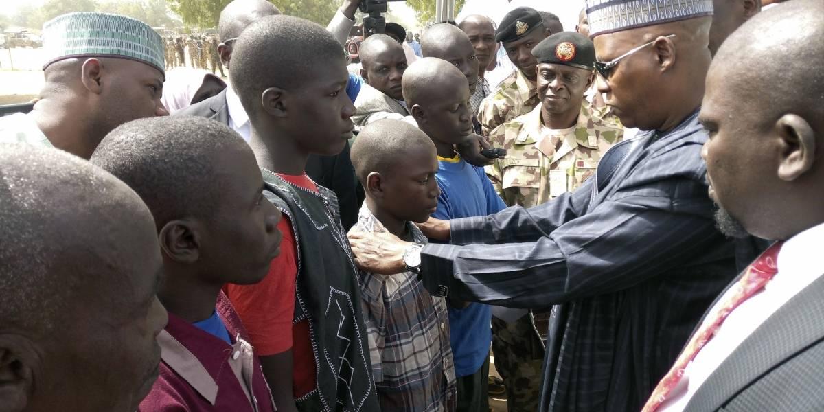 Nigeria: en libertad detenidos que renunciaron a Boko Haram