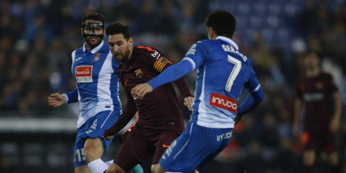 Espanyol cortó la racha invita de 29 partidos del Barcelona y tomó ventaja en la Copa del Rey