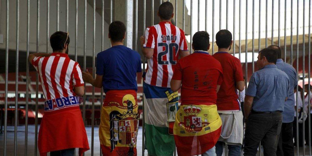 Apuñalan a seguidor del Atlético de Madrid previo al juego ante Sevilla