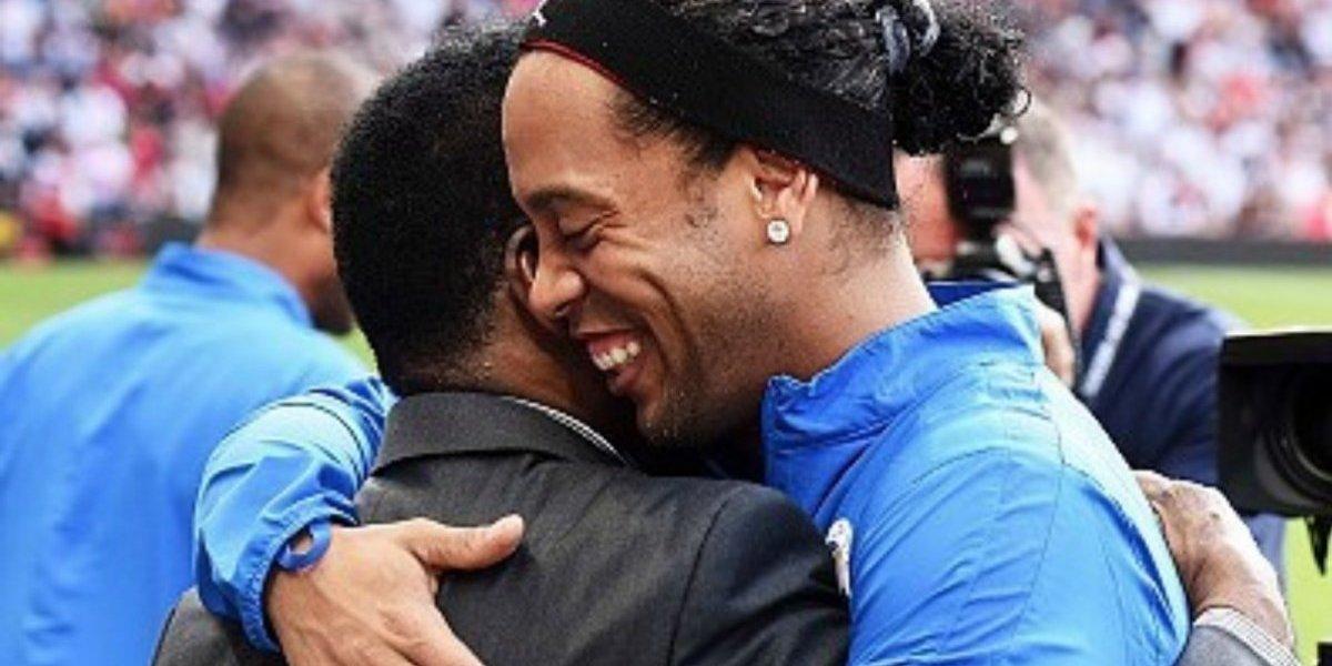 'Es imposible amar el futbol y no ser fan de Ronaldinho': Pelé