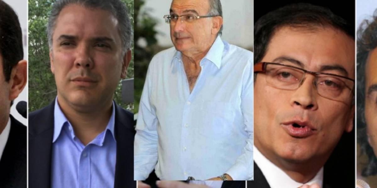 Presidenciales avalados por autoridad comienzan campaña en firme