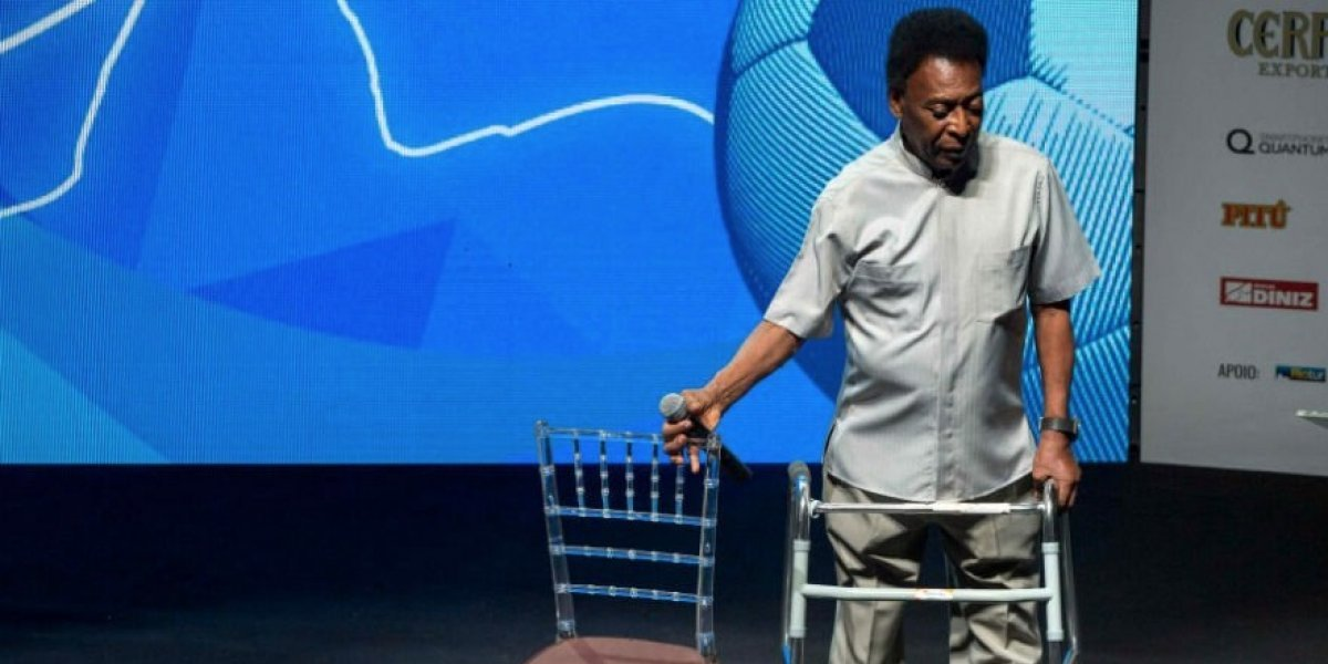 """Un maltrecho Pelé no cree en mufas: """"Brasil es favorito, tenemos una selección que da confianza"""""""