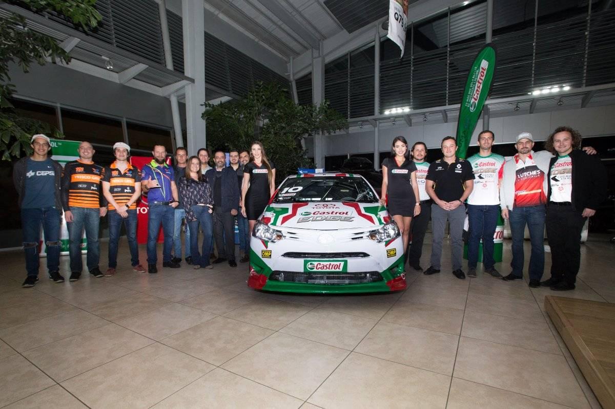Copa Toyota Yaris Castrol