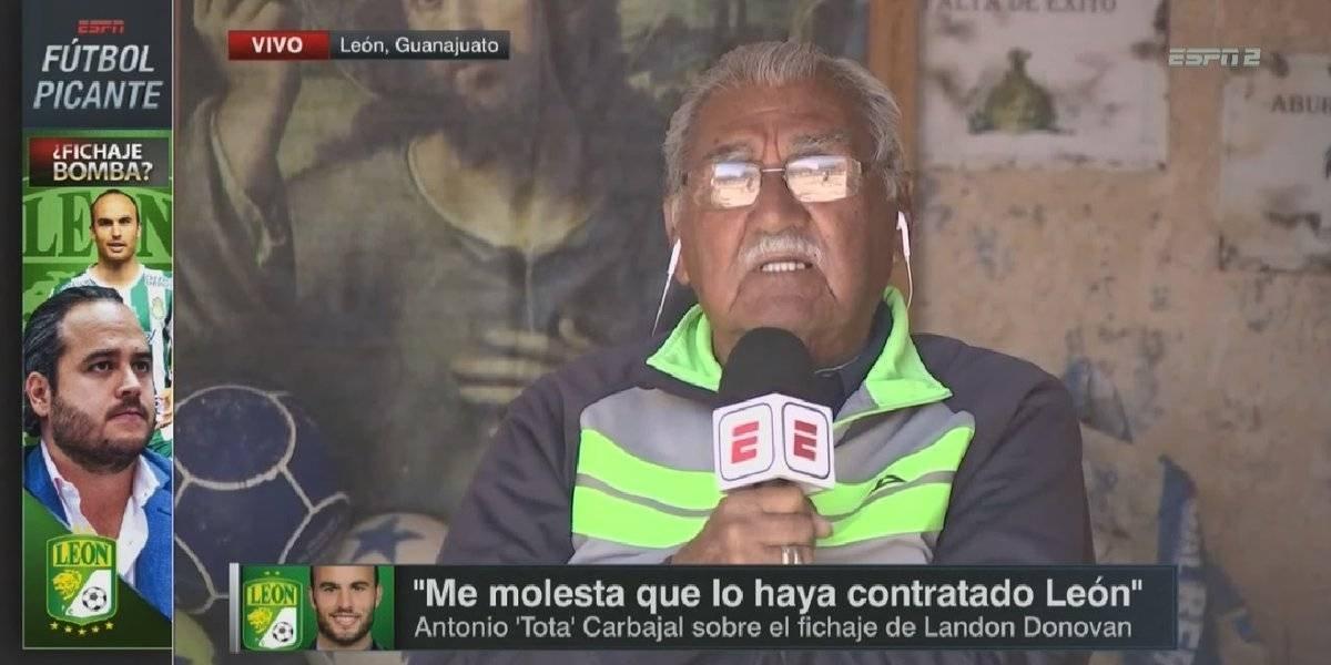 VIDEO: La Tota etiqueta de 'agachones' a directivos de León