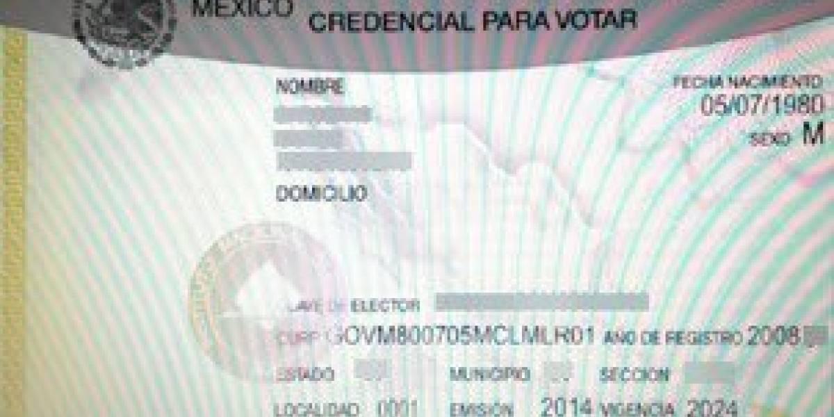 INE no permitirá fraudes con 'credenciales hechizas'