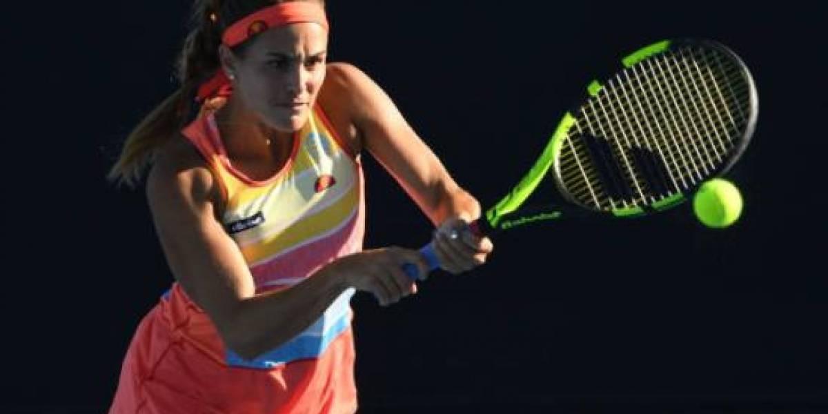 Pierde Mónica Puig en la segunda ronda del Abierto de Australia