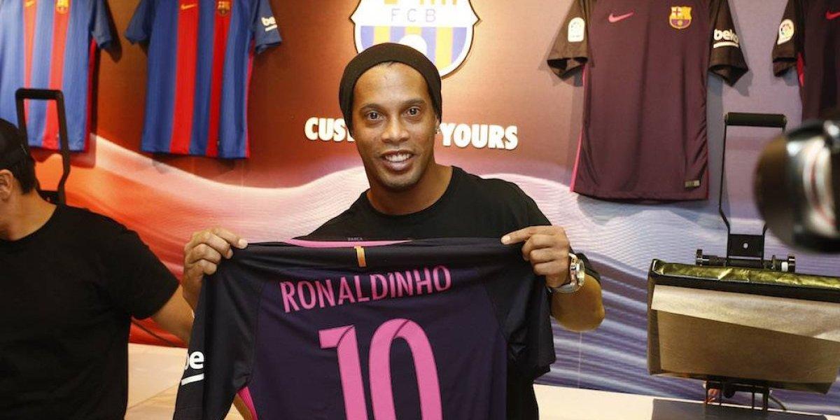 Me despido de mi mayor sueño: Ronaldinho