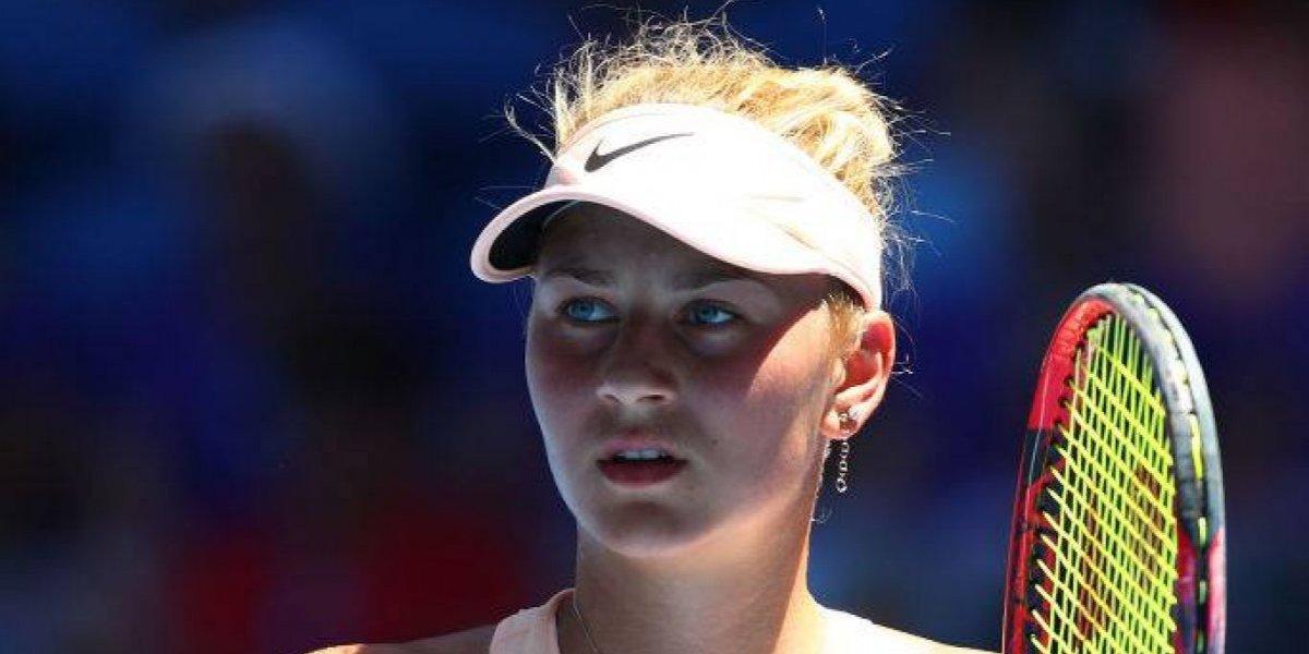 ¿Quién es Marta Kostyuk? la niña de 15 años que eliminó a Seguel y es la sensación del Abierto de Australia