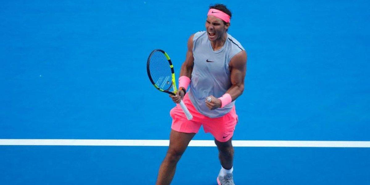 Nadal vengó a Jarry y eliminó al argentino Mayer en el Abierto de Australia