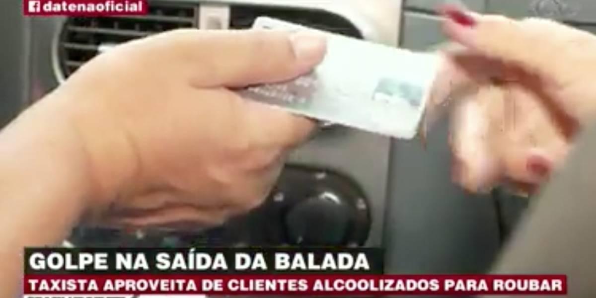 Taxista é preso por aplicar golpes em clientes alcoolizados
