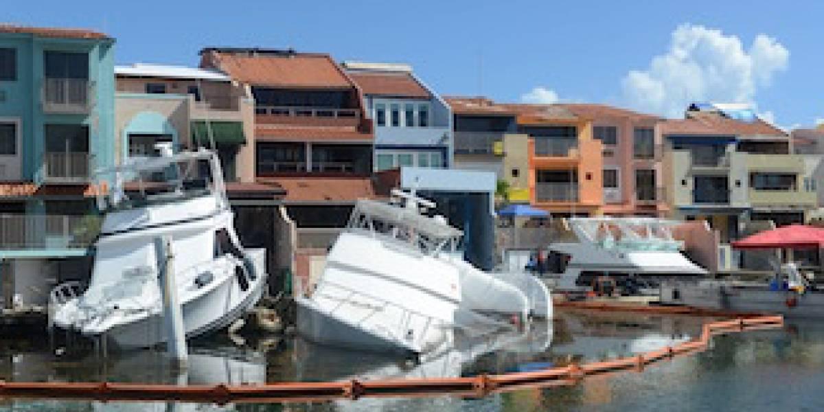 Guardia Costera trabaja con embarcaciones afectadas por huracán María en Palmas del Mar