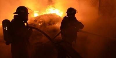 incendio en recicladora del Km. 22 ruta al Pacífico