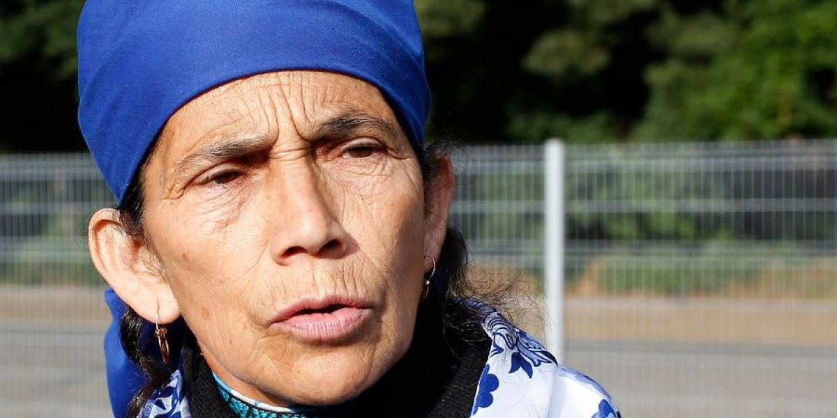 """Machi Linconao iba a entregarle una carta al Papa pero le prohibieron el acceso: """"Necesito que interceda en el juicio"""""""