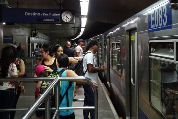 Linha azul do metrô