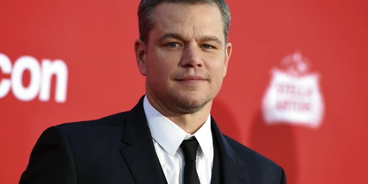 Matt Damon se disculpa por comentarios sobre violencia sexual
